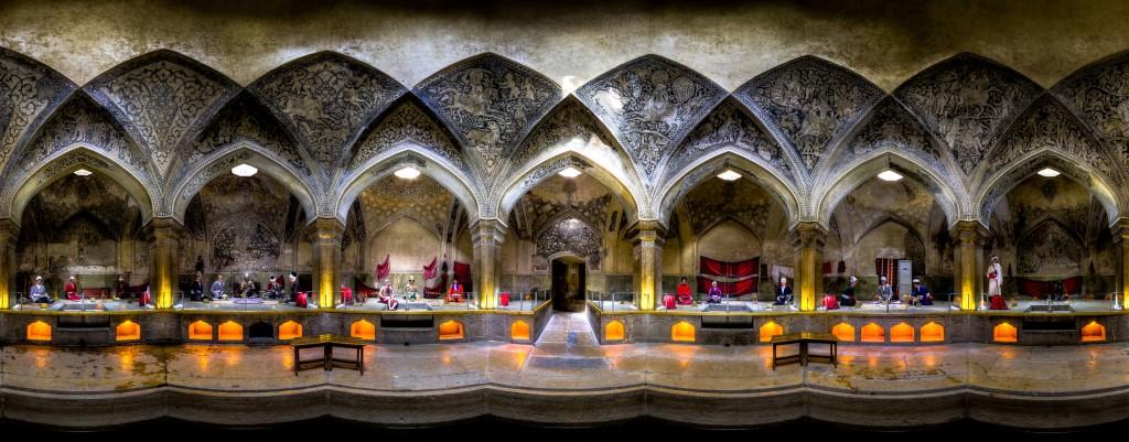 Bain Vakil, site historique à Shiraz, Iran © Mohammad Reza