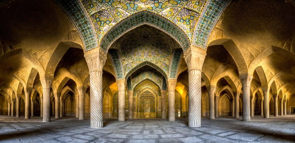La mosquée Vakil, Shiraz Iran. Construite au 18 ème siècle en Iran. © Mohammad Reza