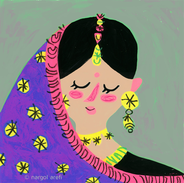 Indian Bride © Nargol Arefi