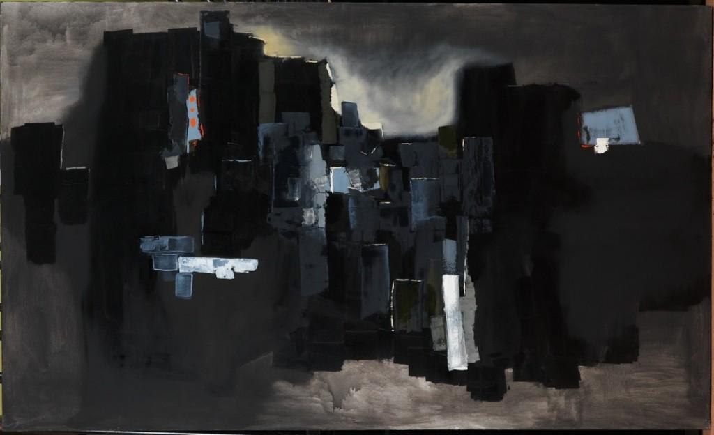 Dark City, 120 x 200 cm, 2011
