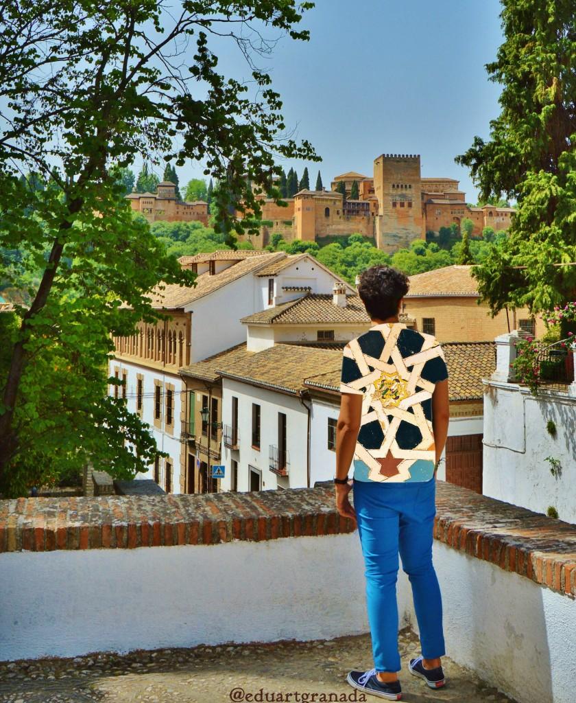 EduArt staring at Granada