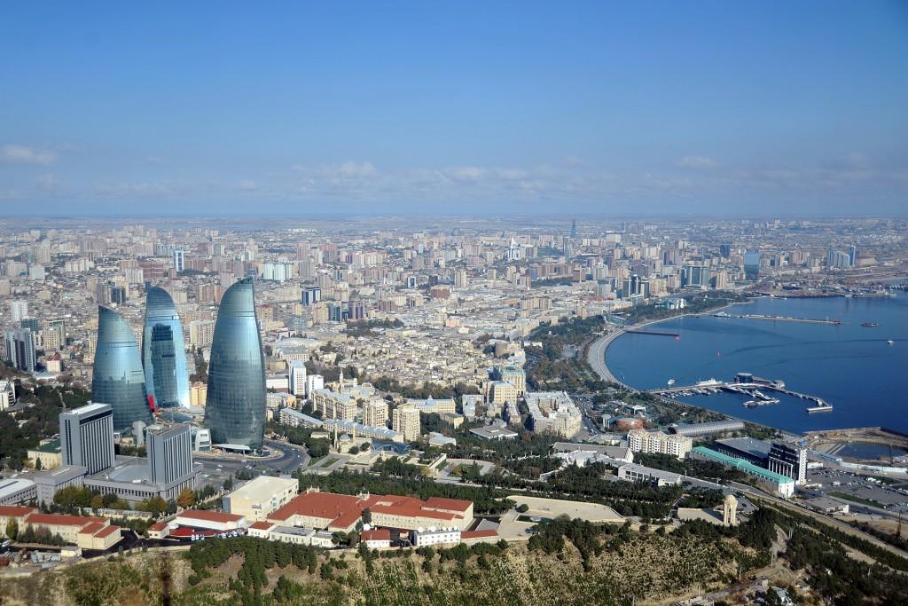Baku from TV tower © Eldar Fazraliyev