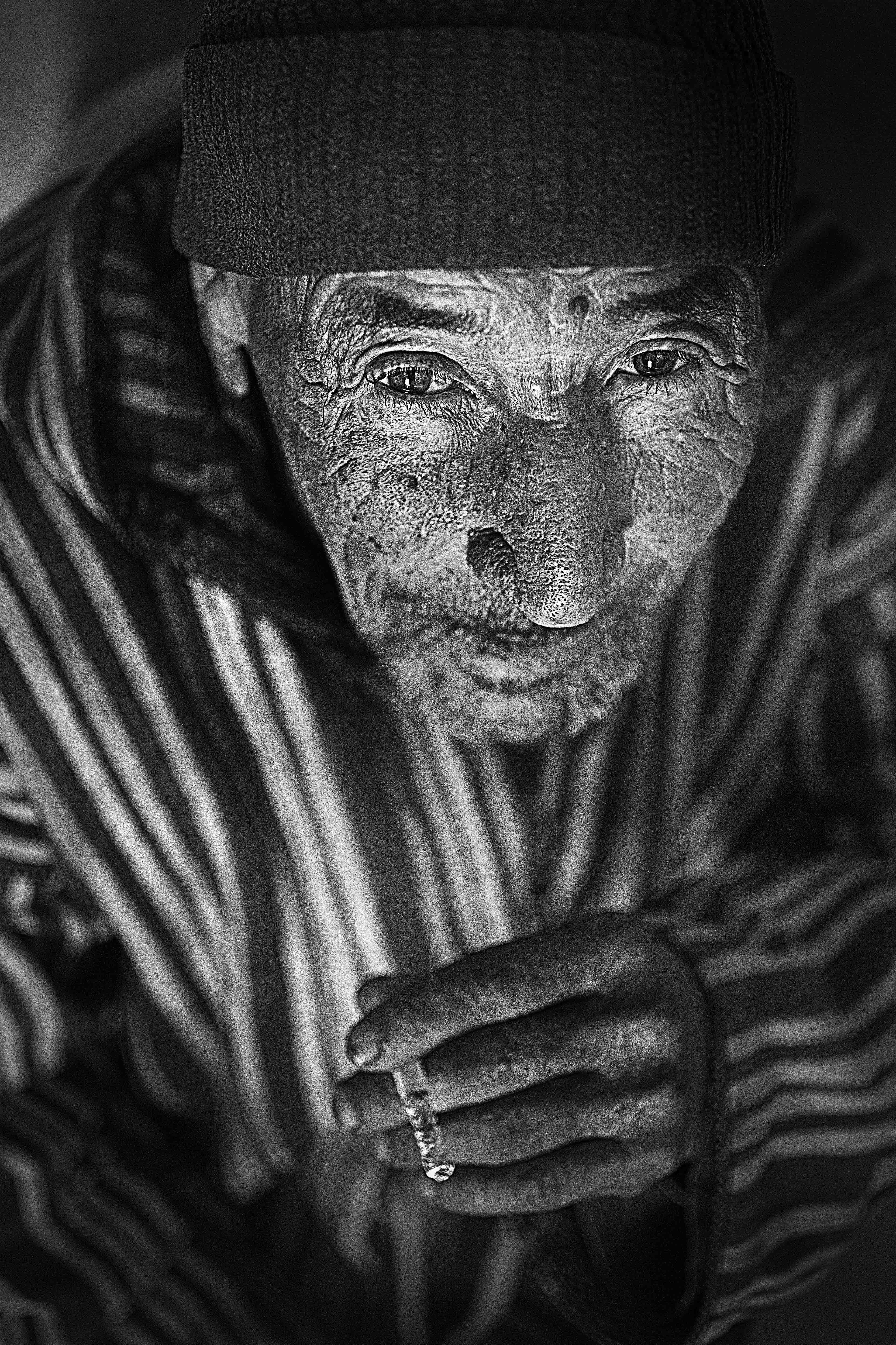 """Anas Kaaouachi & son """"portrait de la nature"""""""