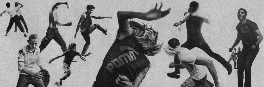Riot I, Collage © Daria Birang and Moises Saman