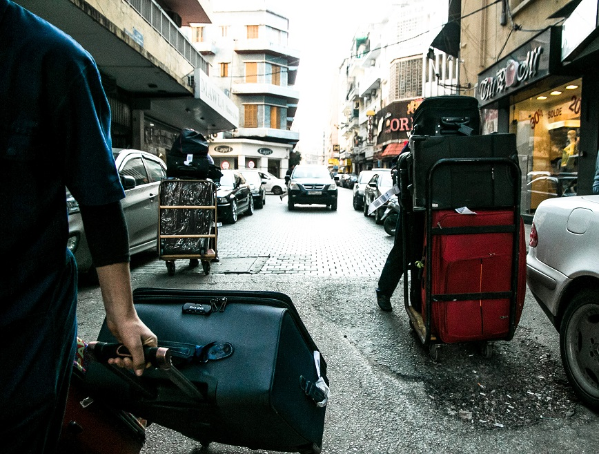 """Beirut' Streets"" par Karim Sakr"
