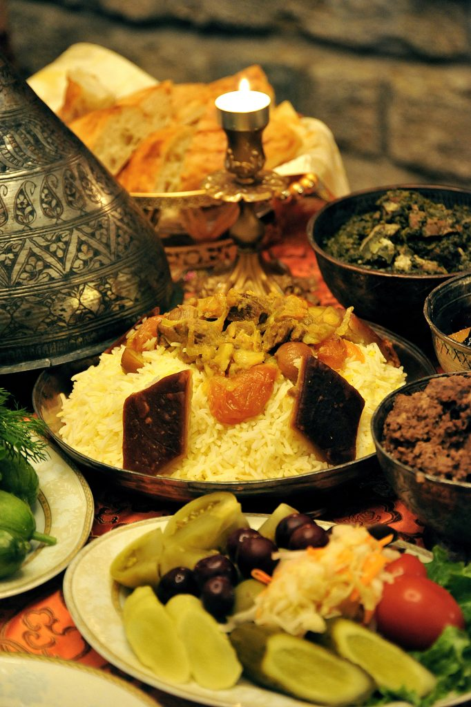 Plov the most well-known meal in Azerbaijani cuisine © Eldar Fazraliyev