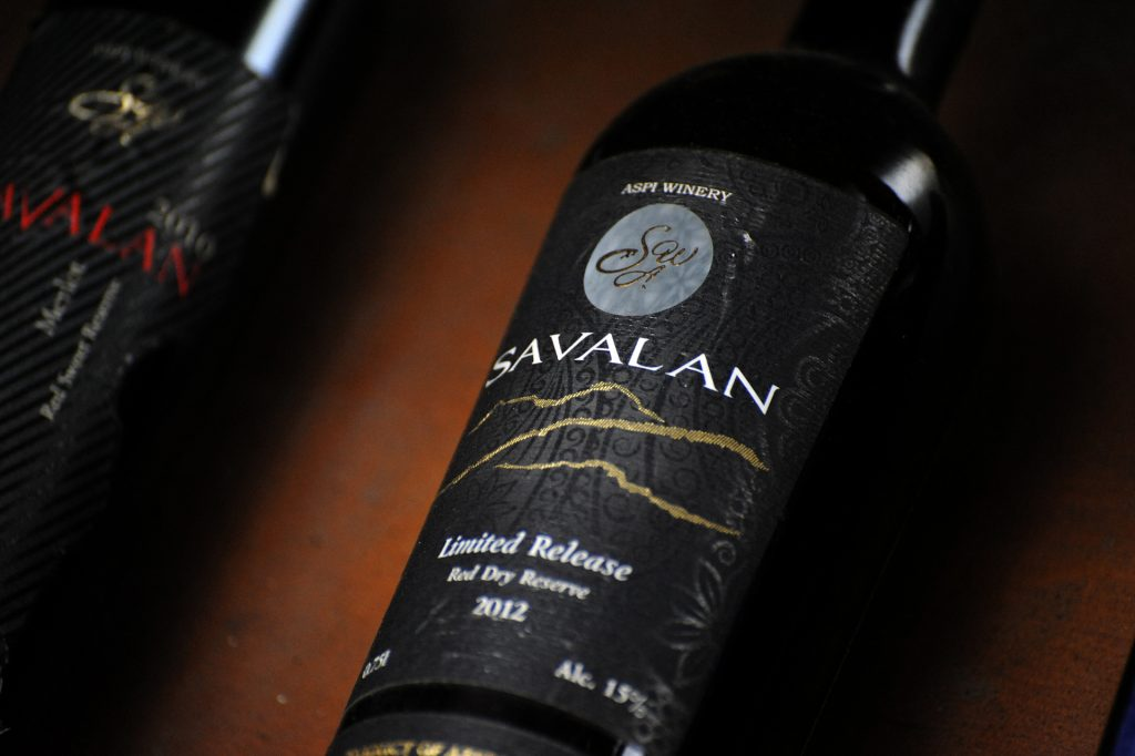 Savalan, the best wine product of Azerbaijan © Eldar Fazraliyev