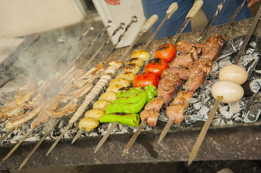 different kind of kebabs © Eldar Fazraliyev