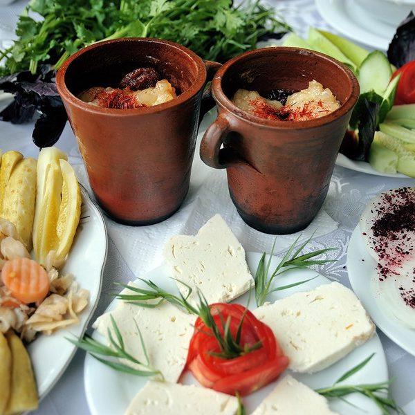 L'art de manger en Azerbaïdjan