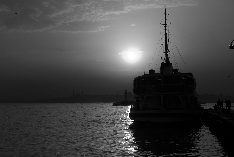 Sunset in Kadıköy