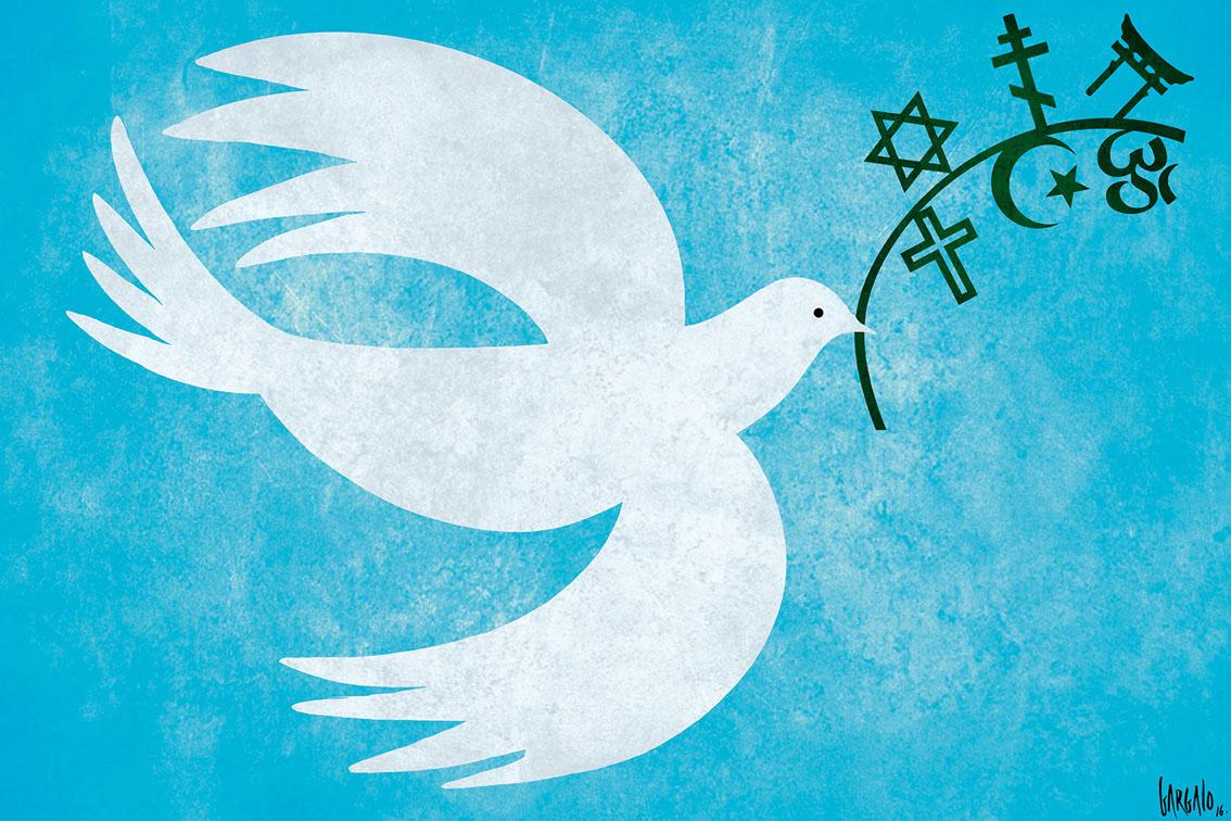 """""""Dessiner pour la paix et liberté d'expression est ma mission de vie """" – Vasco Gargalo"""