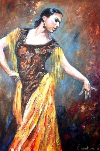 """""""La puissance et la sincérité du Flamenco"""" par Isabelle Jacq Gamboena"""