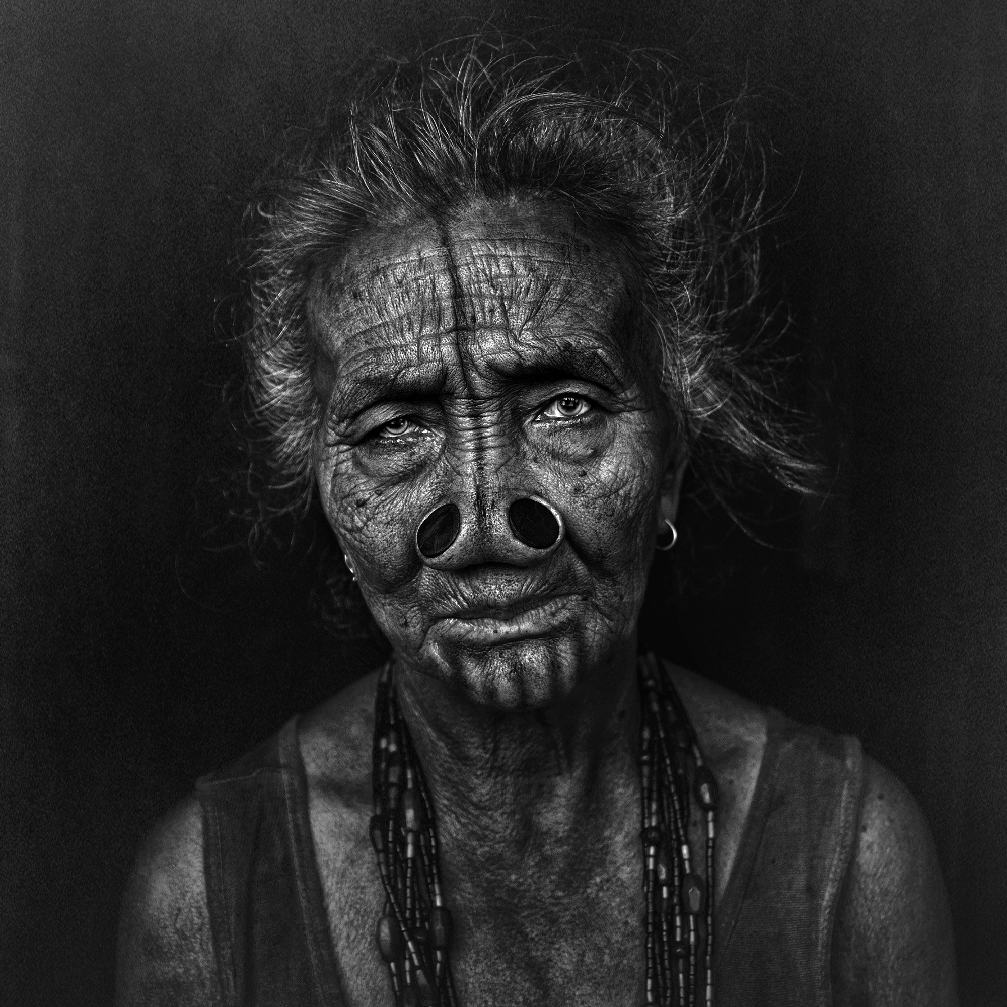 """It's been a long journey"" – Monochrome Portraits by Fadhel Almutaghawi"