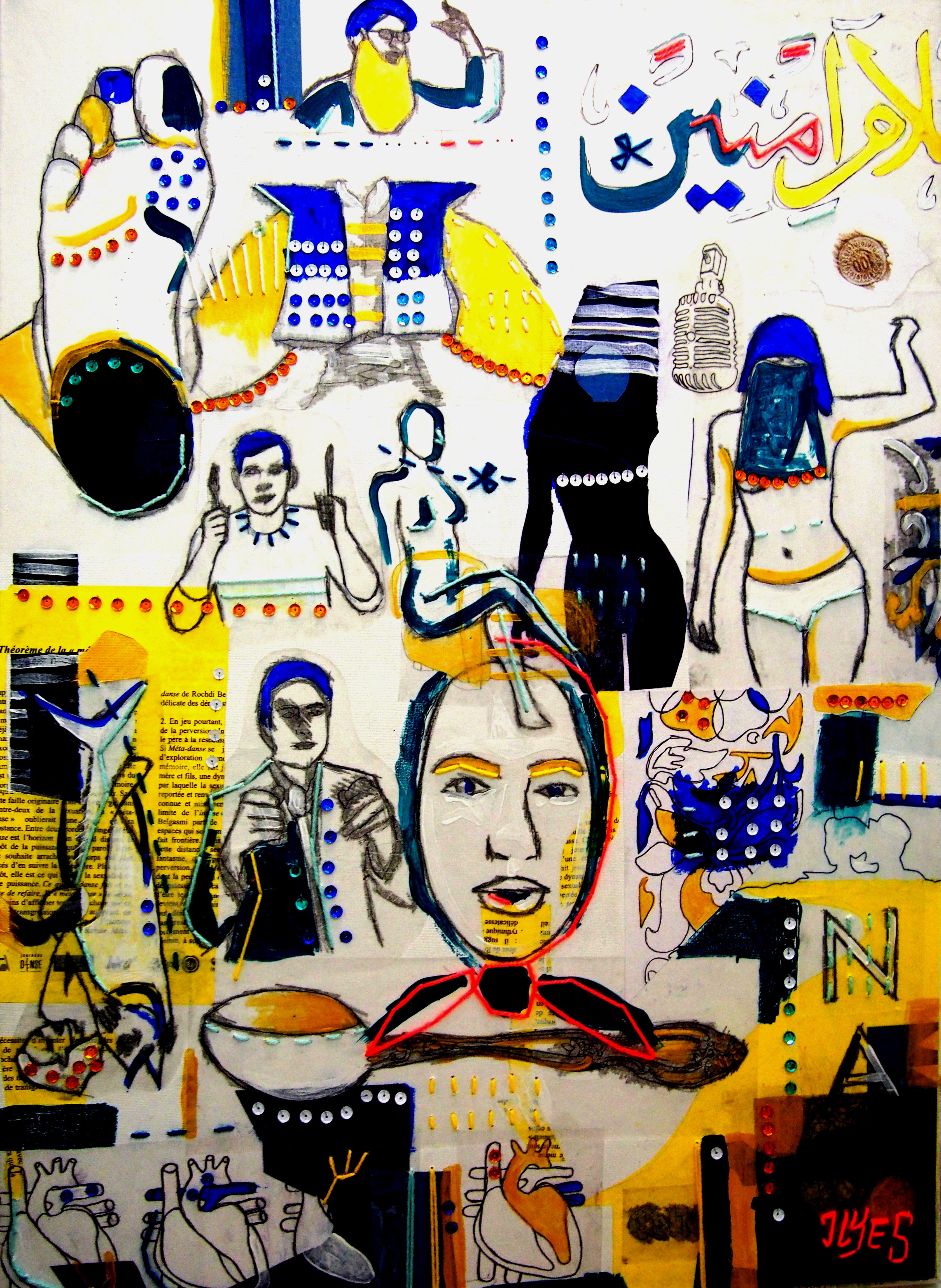 Le conte pop art d'Ilyes