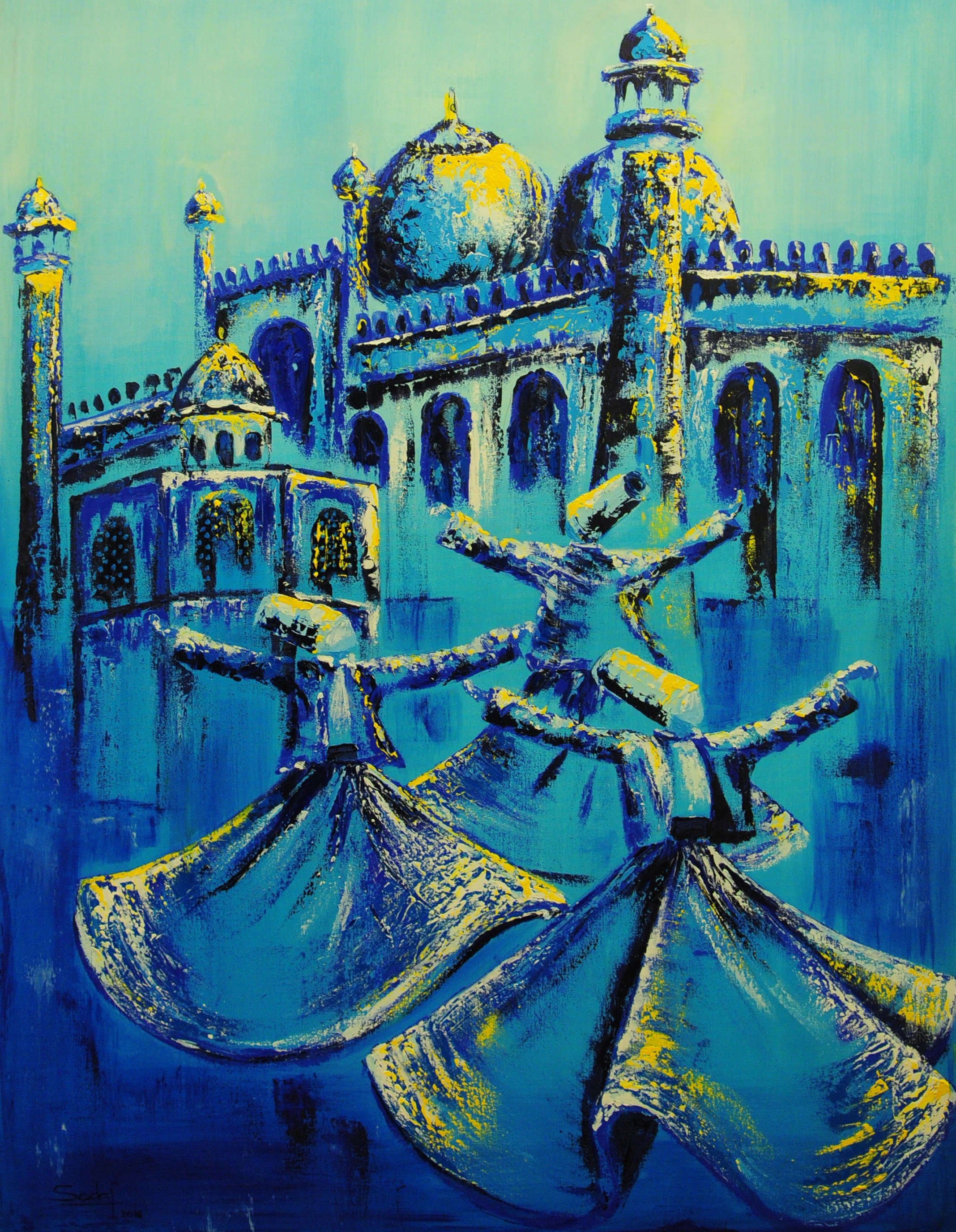 Voyage dans la paix & l'amour de Sadaf Farasat