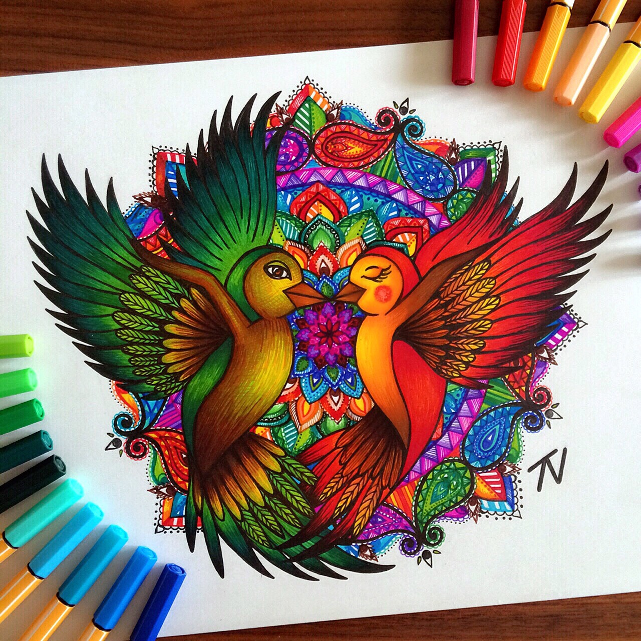 The vibrant art of mandalas by Nigar Tahmazova