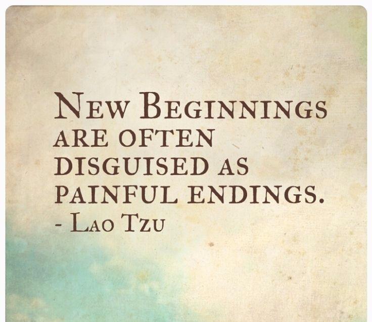 An Ending is a new beginning
